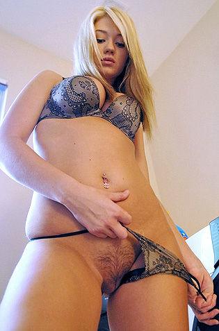 Sexy Blonde Alison Angel
