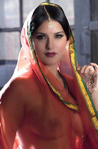 Sunny Leone Beautiful Indian Princess