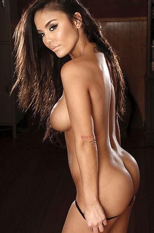 Justene Jaro Showing Her Hot Body