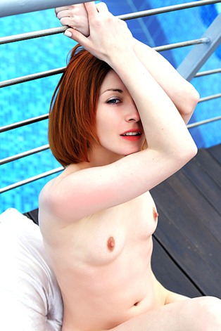 Gorgeous Russian redhead Night A